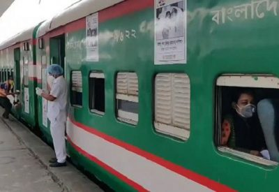 Authorities of Bangladesh Railway have cancelled all rail operations from Rajshahi to other parts of the country for the next seven days in a bid to curb the spread of coronavirus infection.